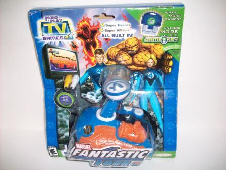 Marvel Fantastic Four (SEALED) - Plug & Play TV Game